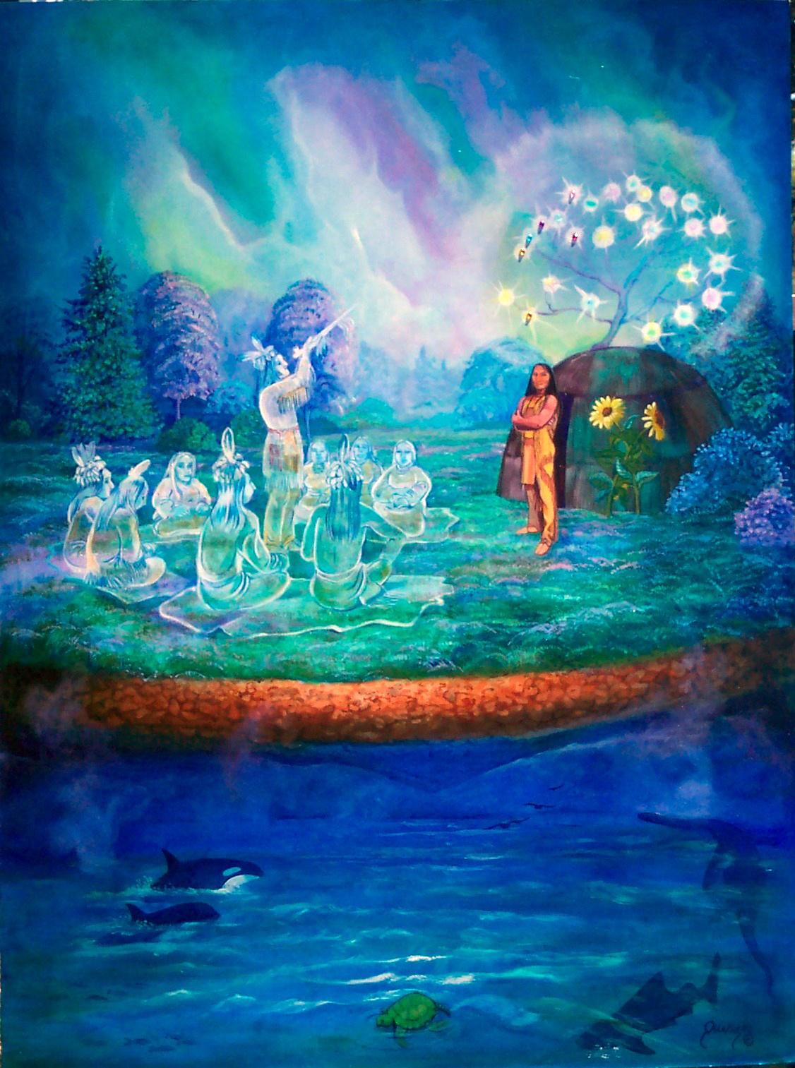 World creation myth essay